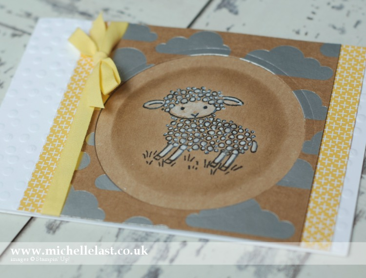Easter Lamb from Stampin Up