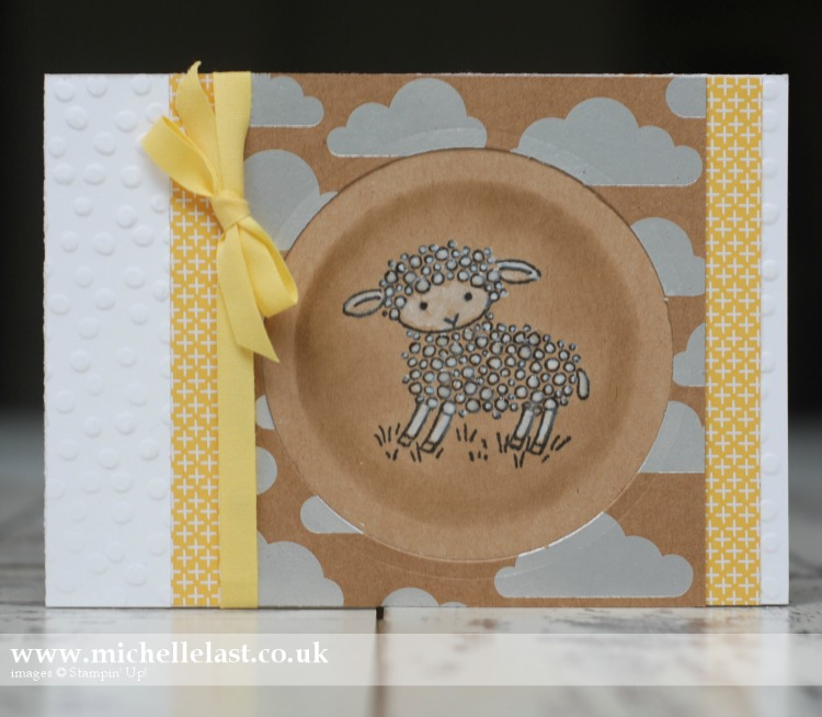 Easter Lamb from Stampin Up 1