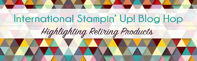 International Blog Hop retiring products