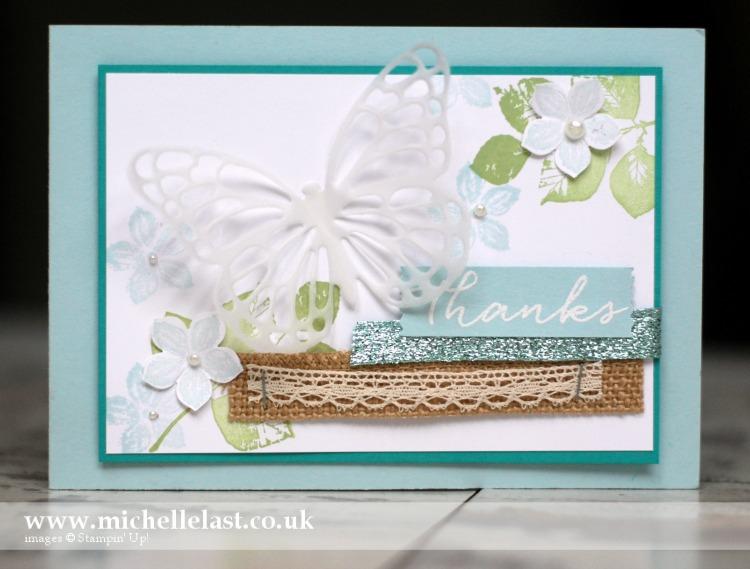Petite Petals Swap Card cased from Mercedes Weber