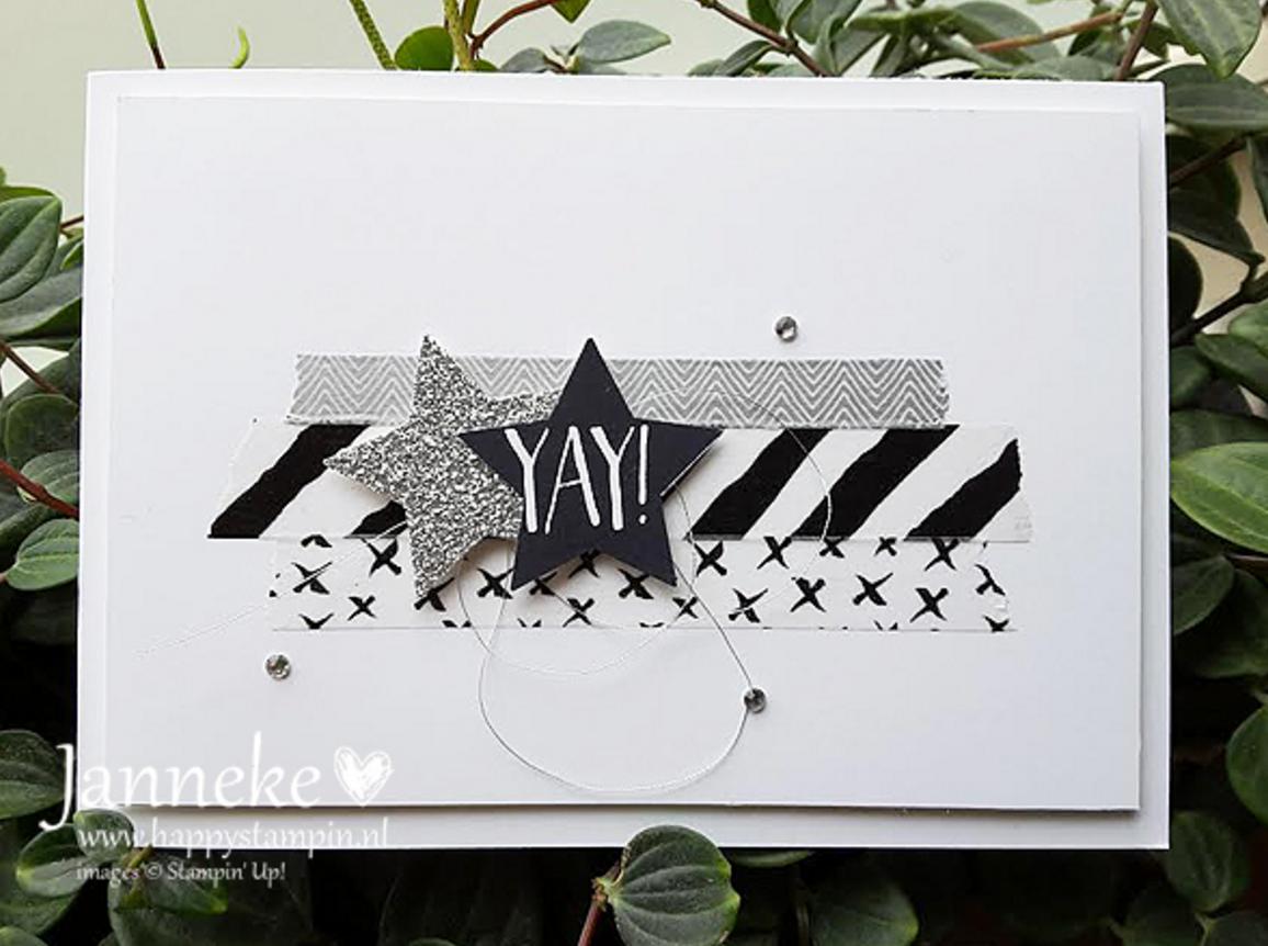 Washi Tape Project by Janneke de Jong part of the Pinkies team