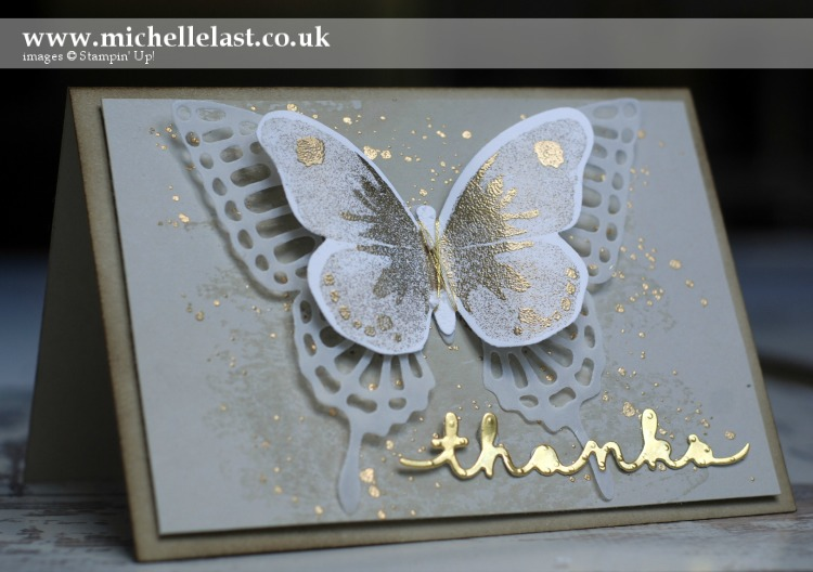 butterfly thank you card for International Blog Highlight
