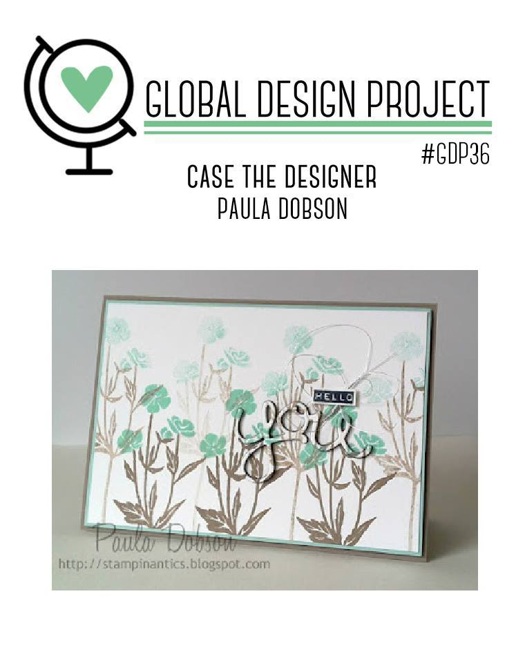 #GDP036 CASE card from Paula Dobson