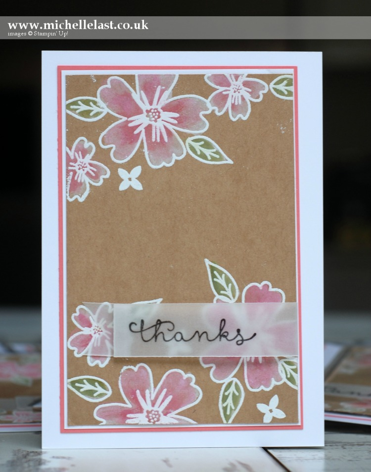 Love & Affection from Stampin Up