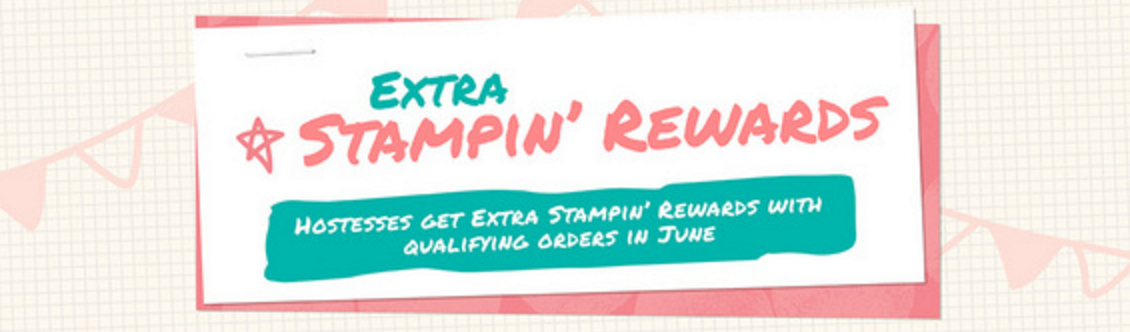 Extra Stampin Rewards in June 2016