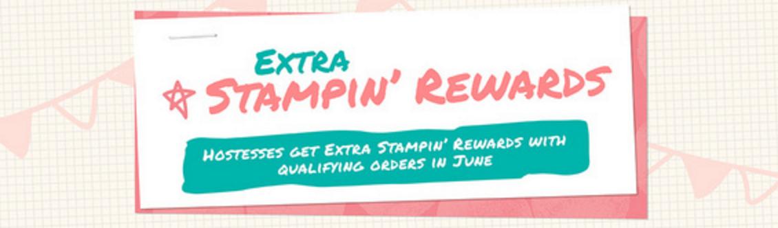 Extra Stampin Rewards in June 2016