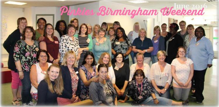 Birmingham Pinkies Team June 2016