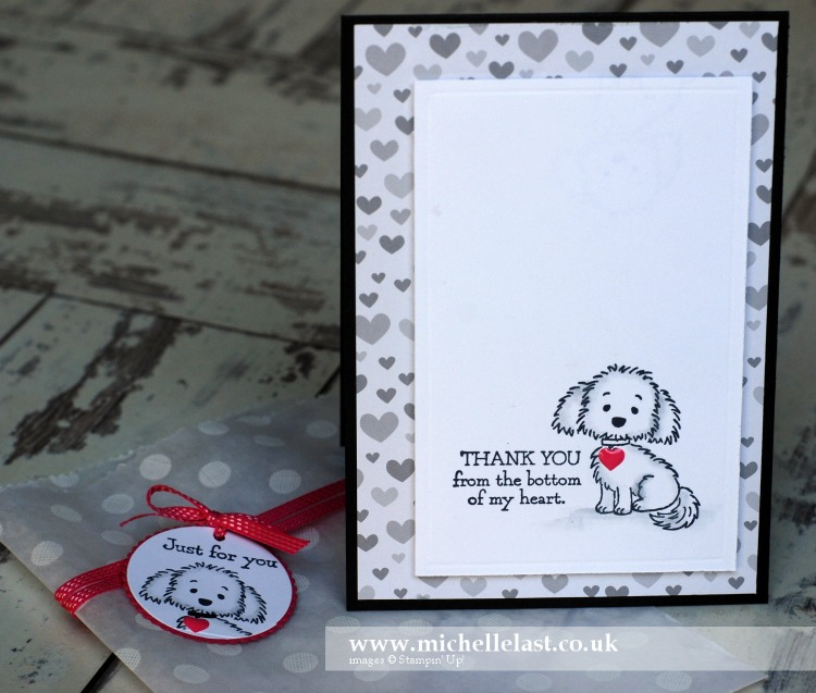 Bella & Friends #GDP045 Card & Glassine Bag
