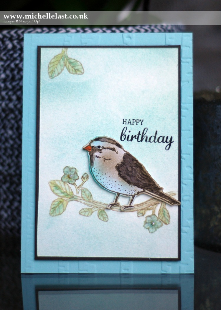 Best Birds from Stampin Up for #GDP046