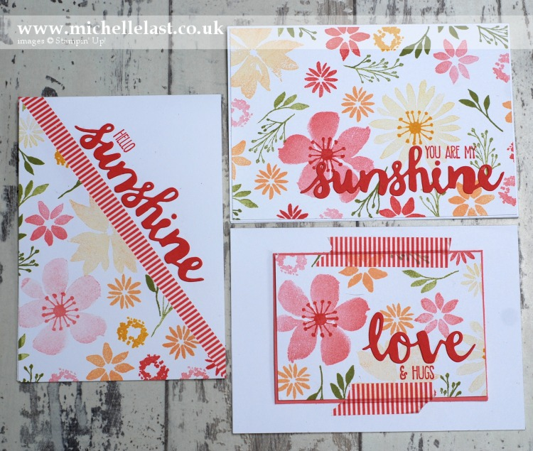 Blooms & Wishes 3 Cards One Sheet Wonder