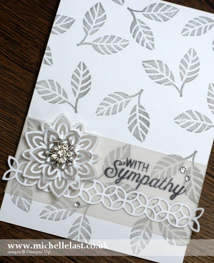 Flourishing Thinlits from Stampin Up