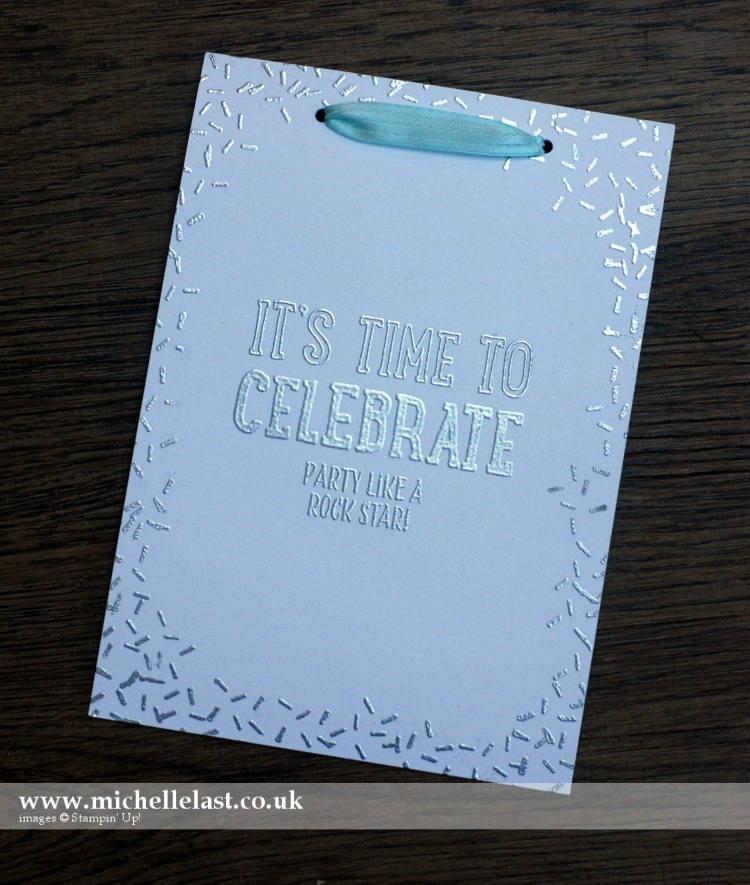 #GDP043 Party Invite Stampin Up