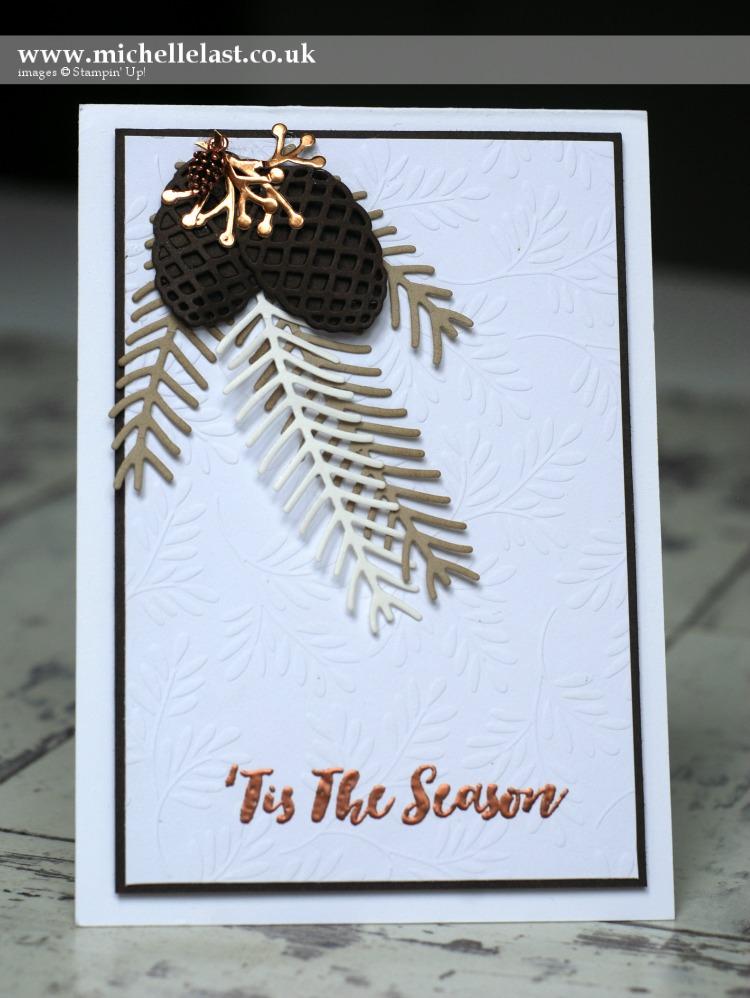 Christmas Pines from Stampin Up Seasonal Catalogue