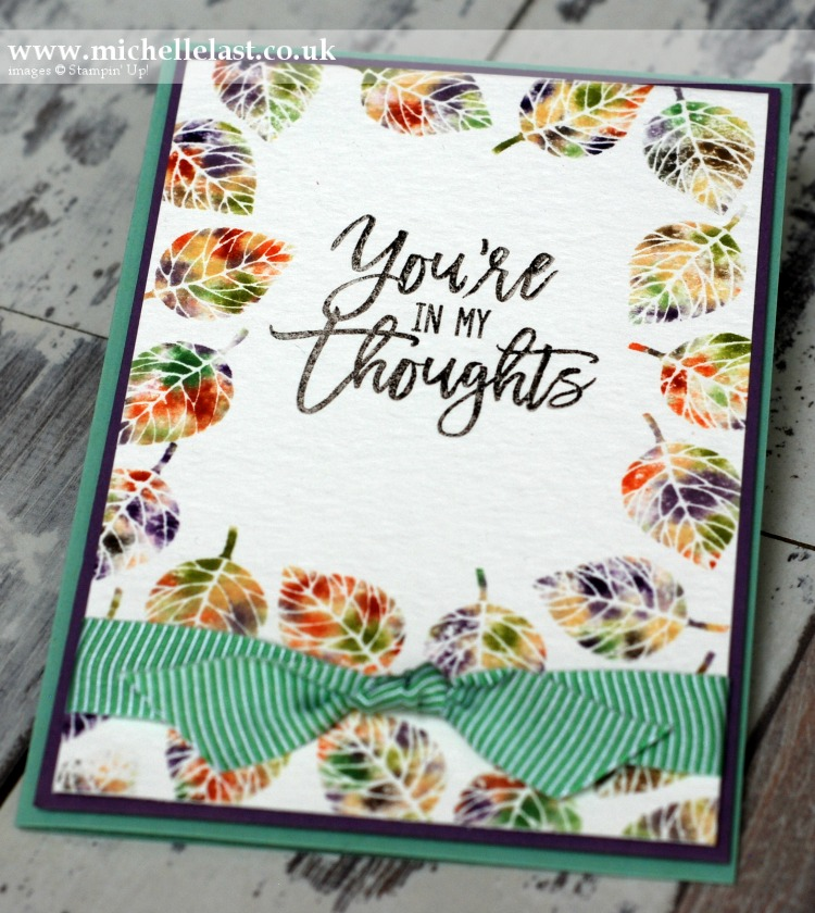 Thoughtful Branches from Stampin Up