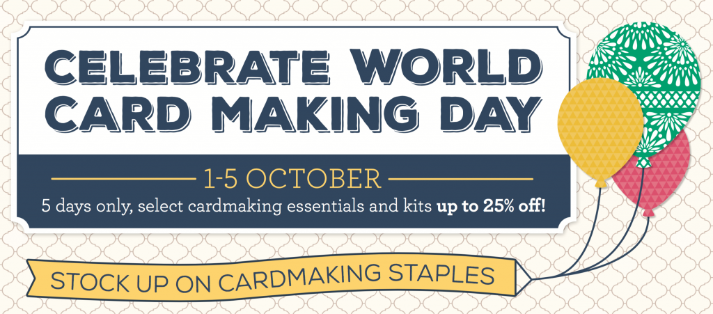 World Cardmaking Day Specials from Stampin Up
