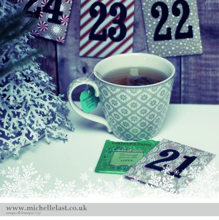 Advent Calendar using Stampin Up Supplies