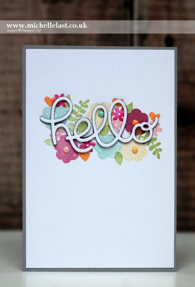 Endless Thanks raised greeting card