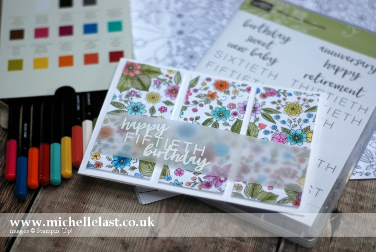 Inside the Lines free from Stampin Up during SAB