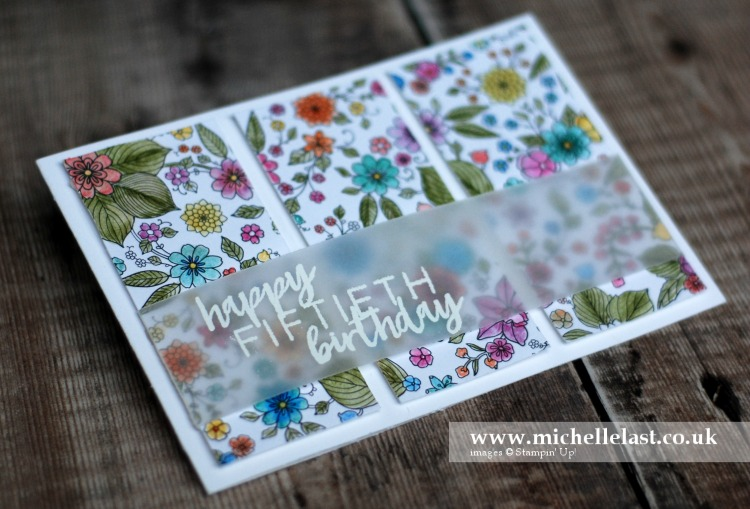 Easy Panel Card – Technique 101 Blog Hop