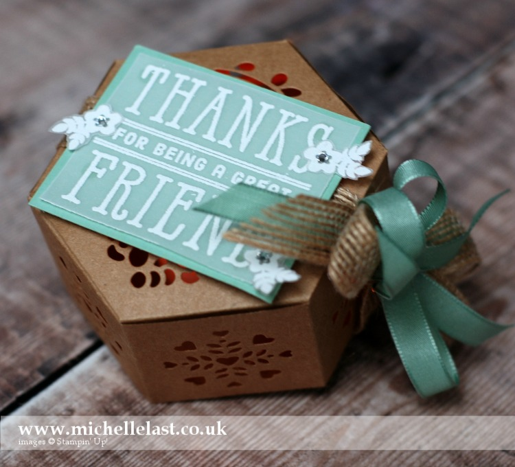 Window Box Thinlits – Gorgeous Wedding Favour Box
