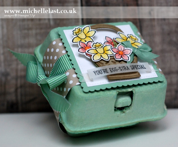 Basket Bunch Easter Treat from Stampin Up