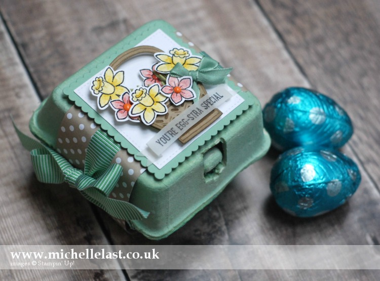 Mini Egg Cartons from Stampin Up