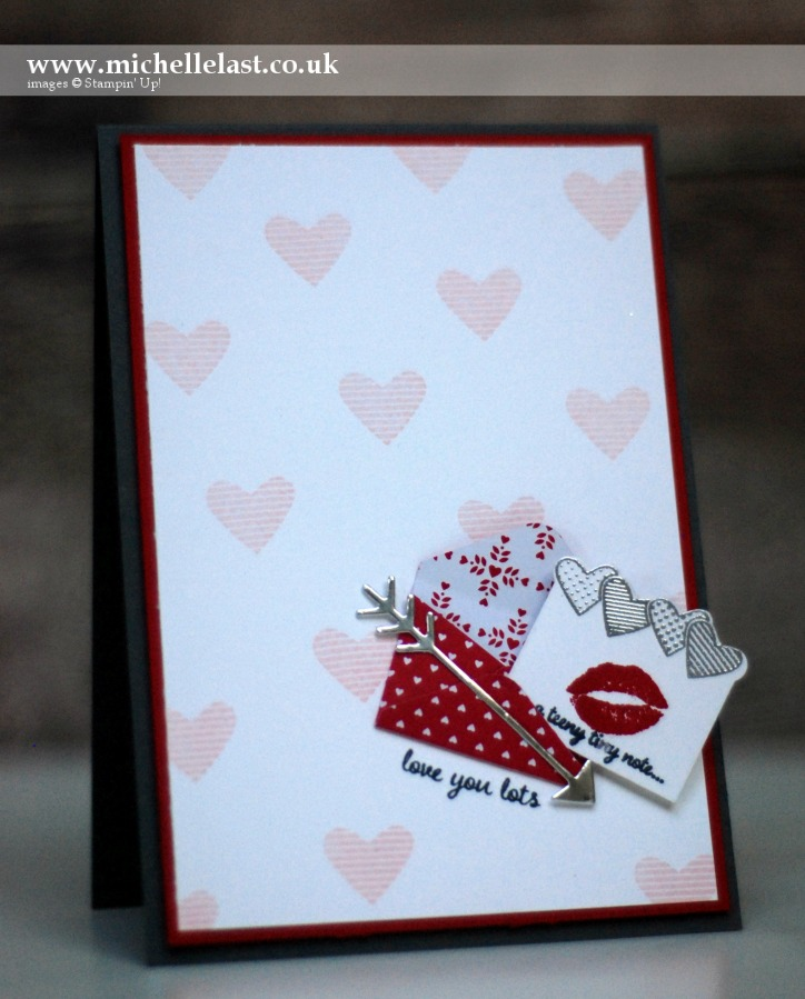 Sealed with Love made using Stampin Up Stamps