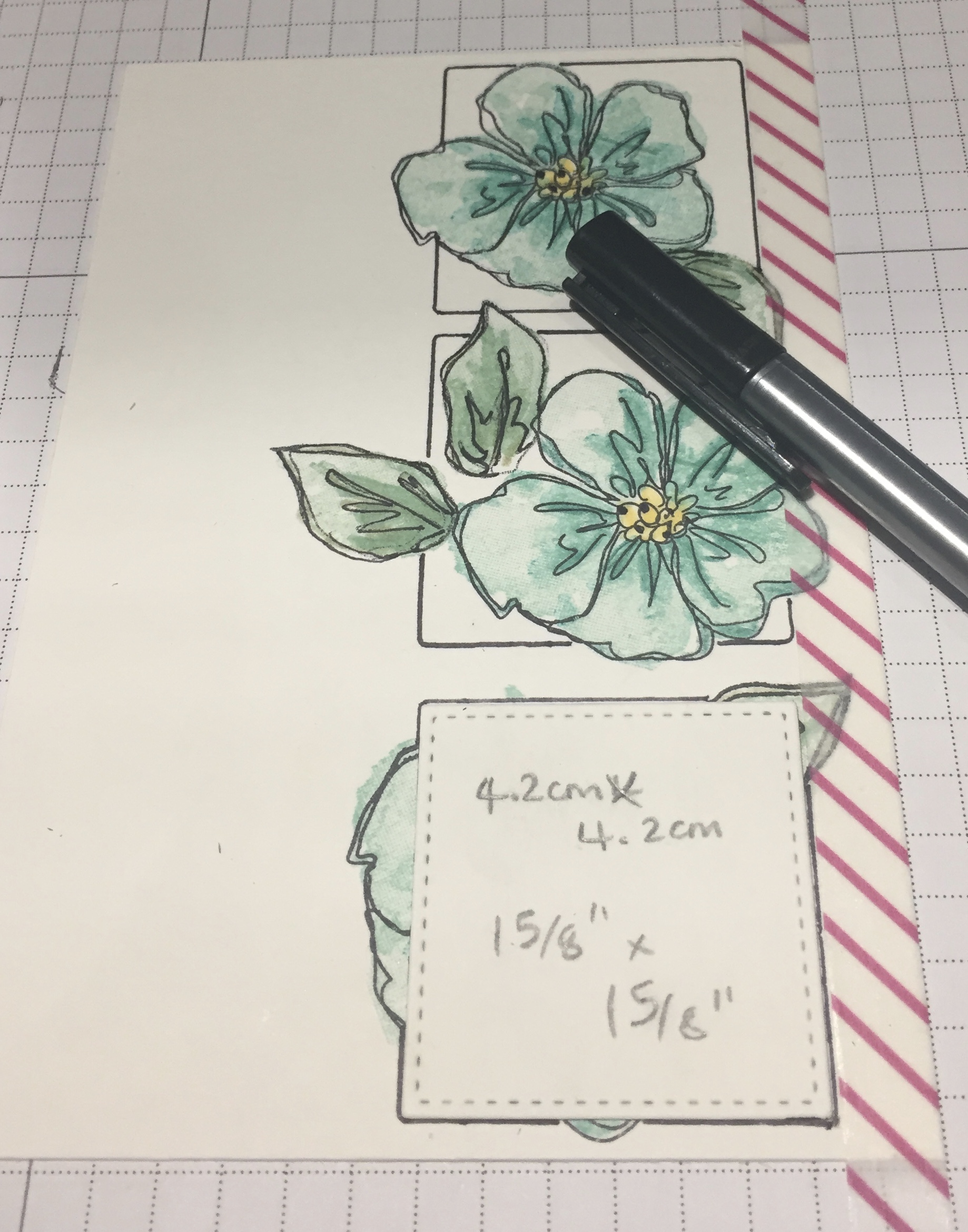 Penned & Painted Stampin Up