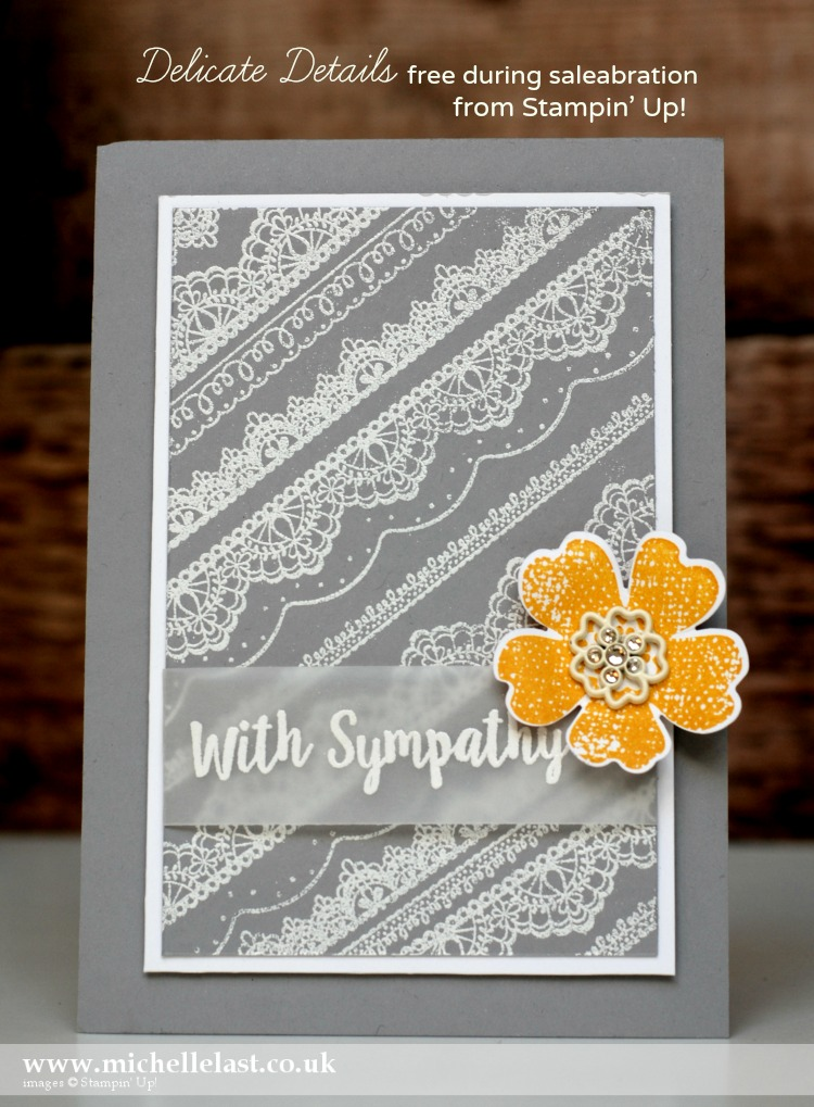 Delicate Details from Stampin' Up! free during saleabration