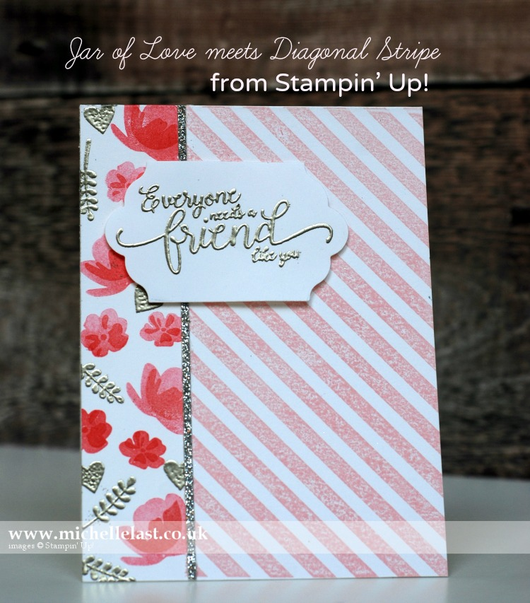 Jar of Love from Stampin' Up for #GDP082
