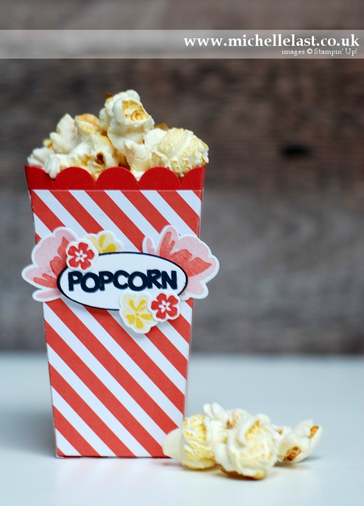 Popcorn Box Thinlits from Stampin Up
