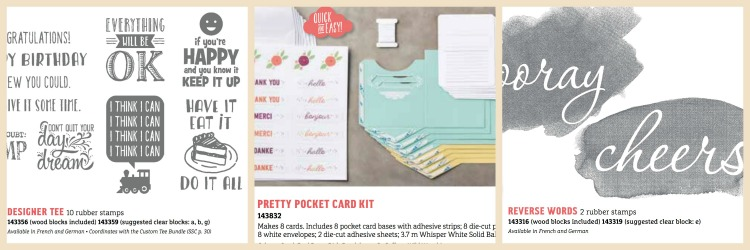 Saleabration Free items from Stampin Up 2017