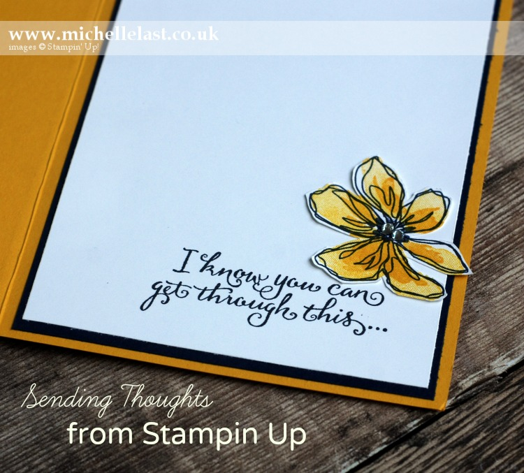 Sending Thoughts from Stampin Up