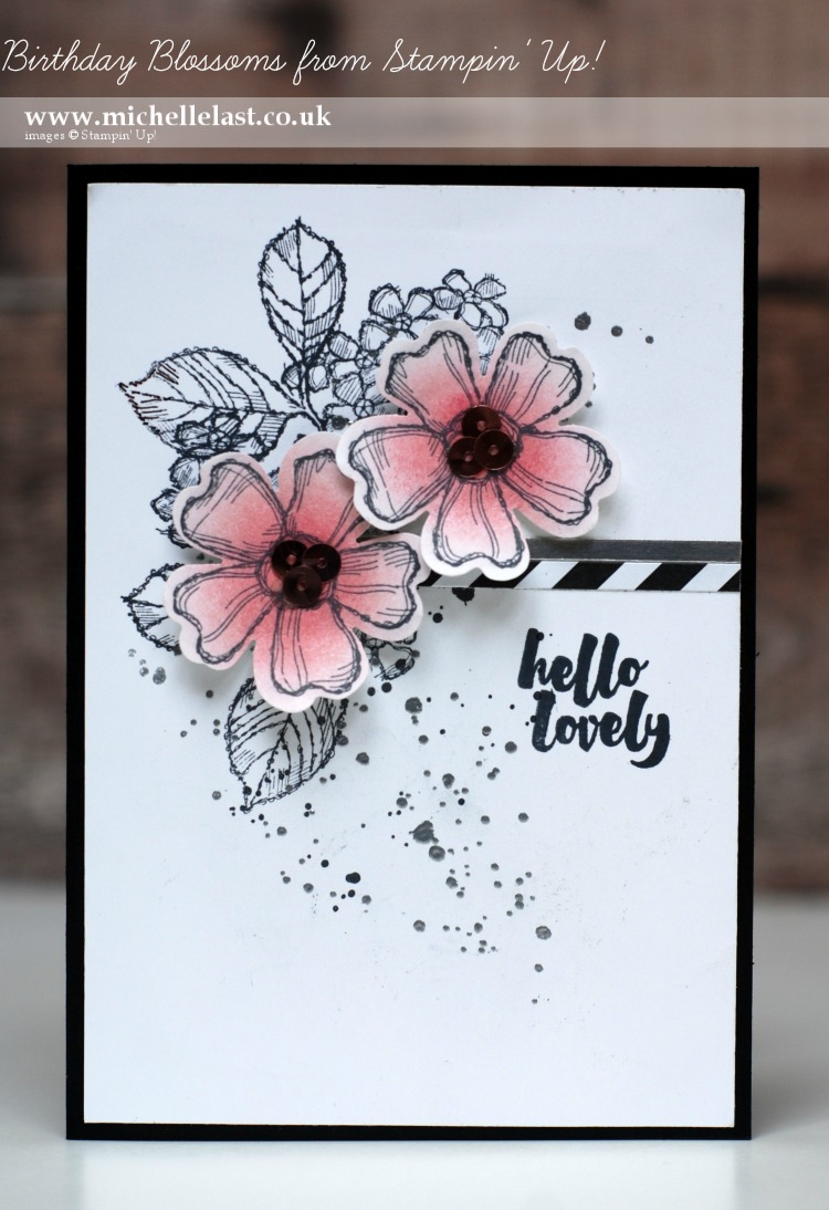 Birthday Blossoms from Stampin Up
