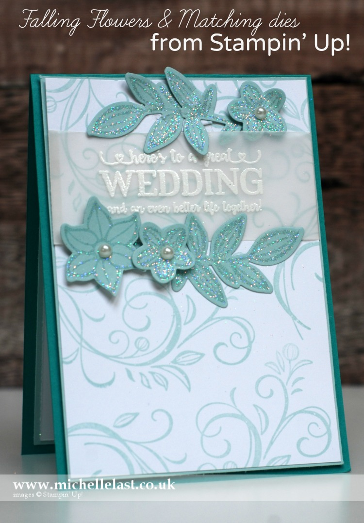 #GDP083 Falling Flowers from Stampin Up