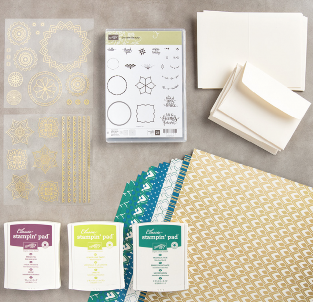 Eastern Palace Starter Bundle from Stampin Up