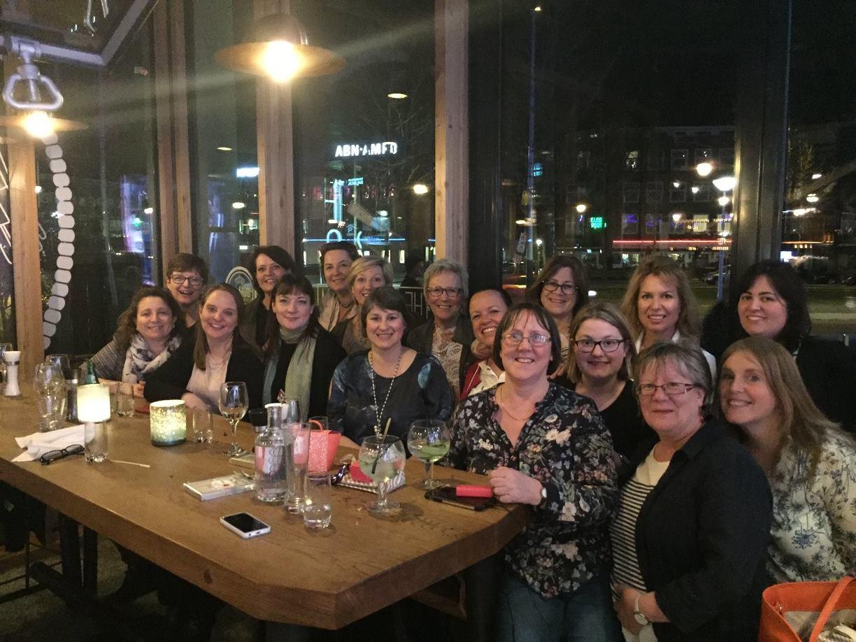Pinkies Team Dinner in Amsterdam