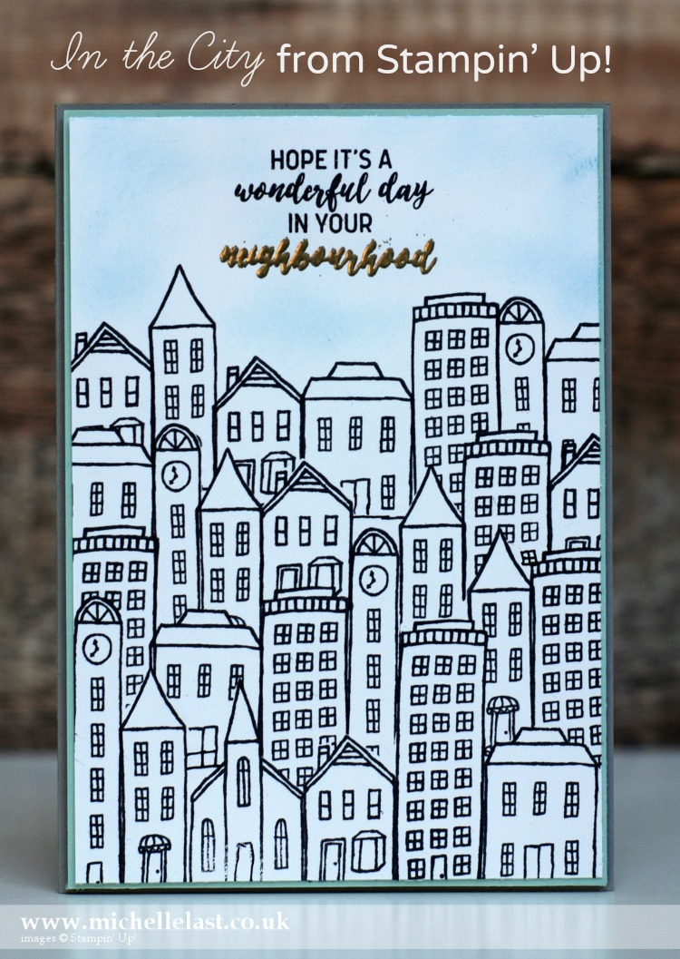 In the City from Stampin Up