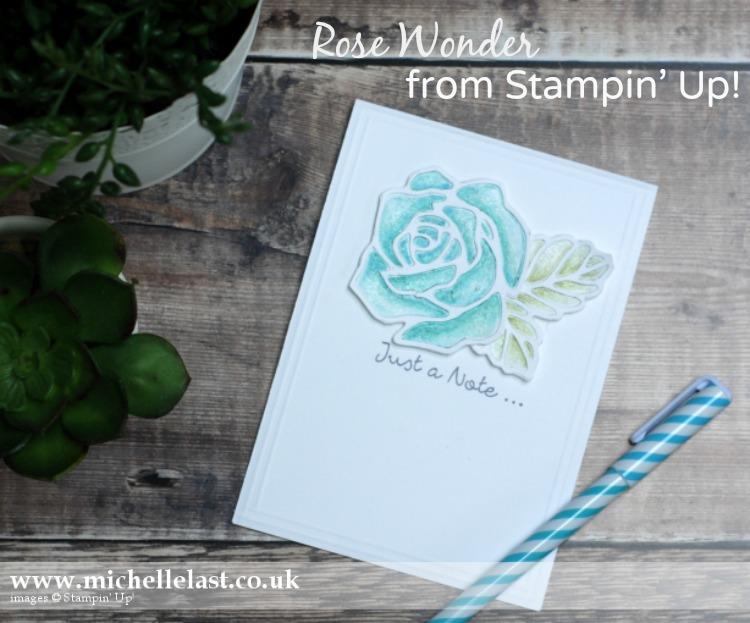 Rose Wonder from Stampin' Up!