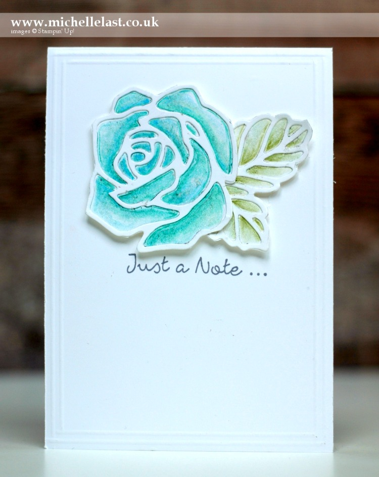 Rose Wonder from Stampin Up