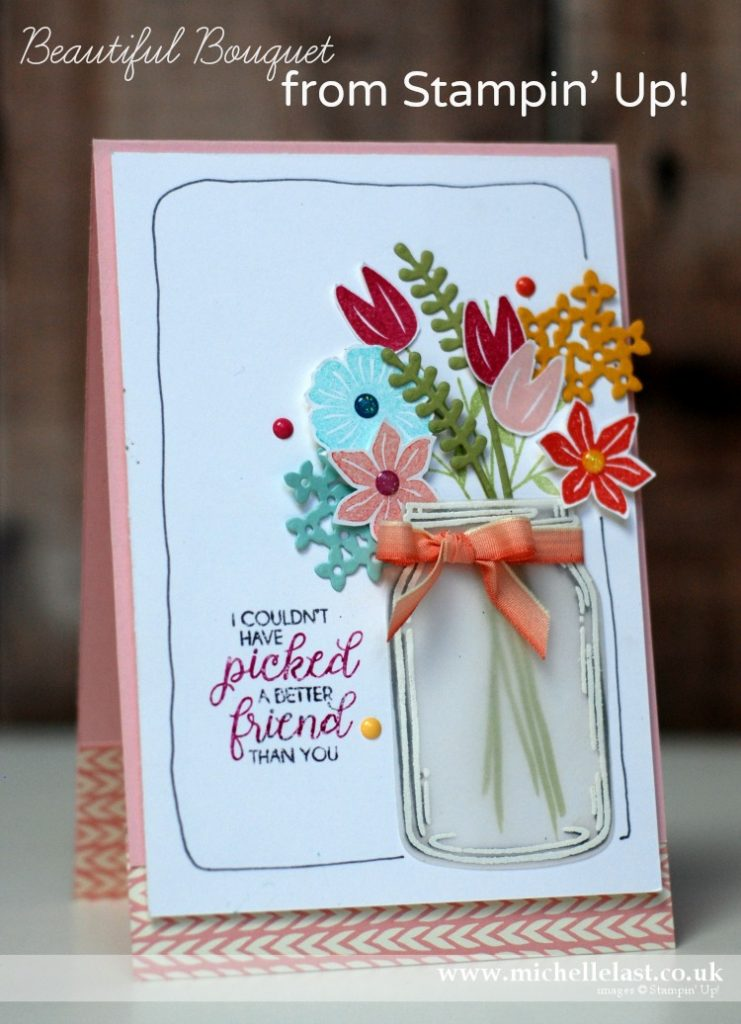 Beautiful Bouquet From Stampin Up Stampin Up Uk Top Demonstrator