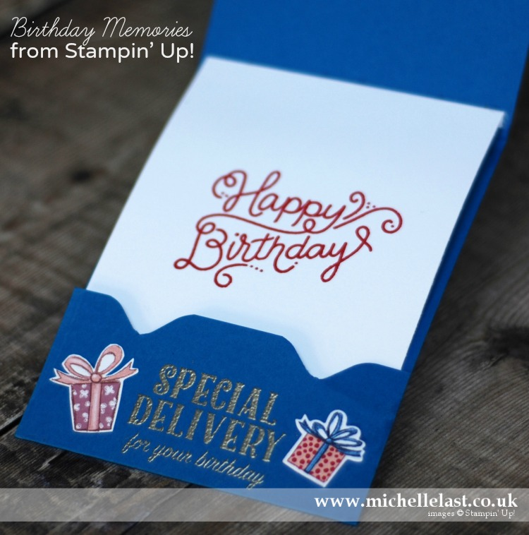 Birthday Delivery Bundle from Stampin Up