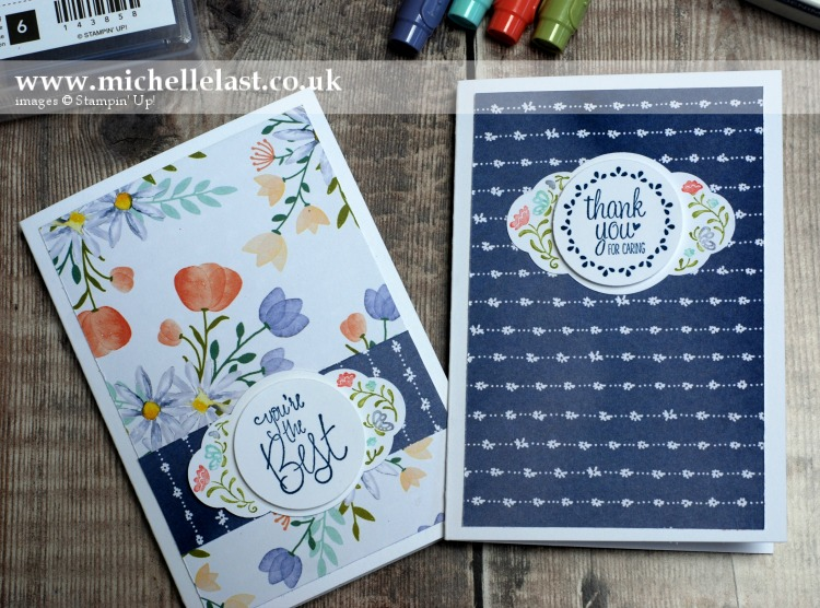 Label Me Pretty using Stampin Write Markers