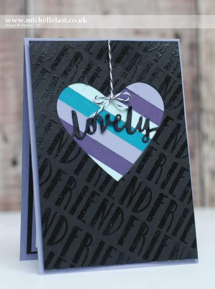 Lovely Words Thinlits Stampin Up