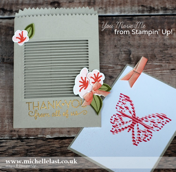 You Move Me Bundle from Stampin Up