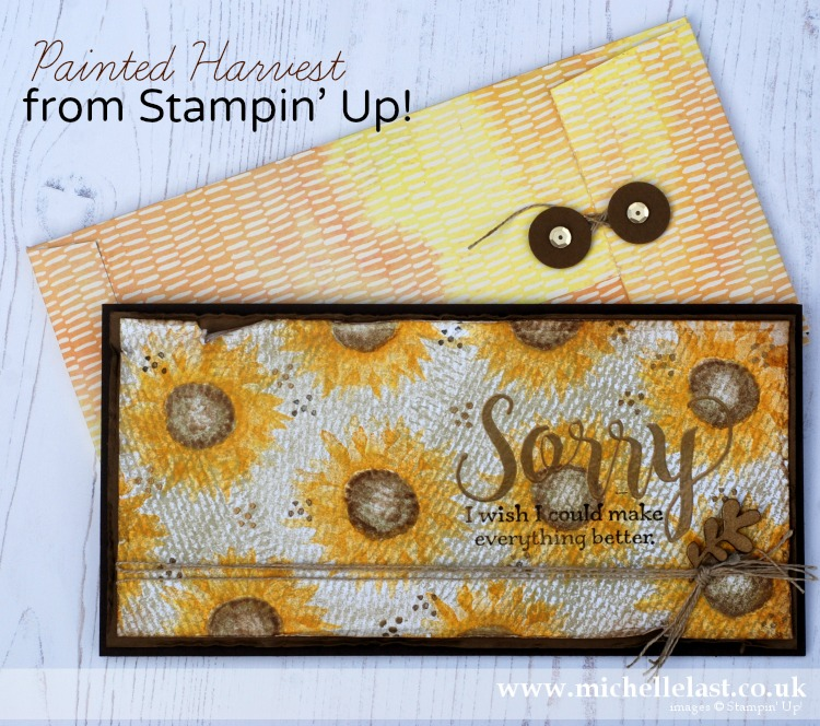 Stampin Up Painted Harvest