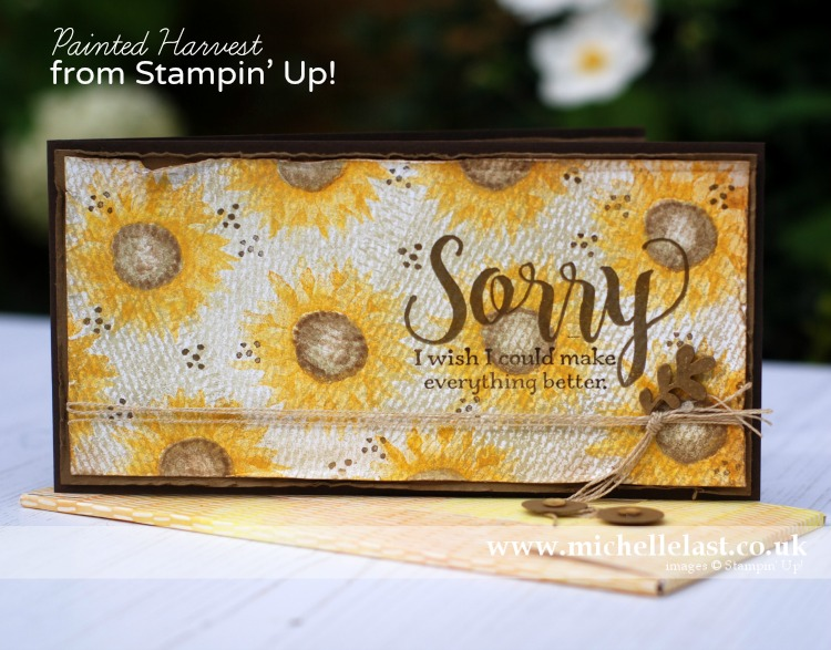 Painted Harvest from Stampin' Up!
