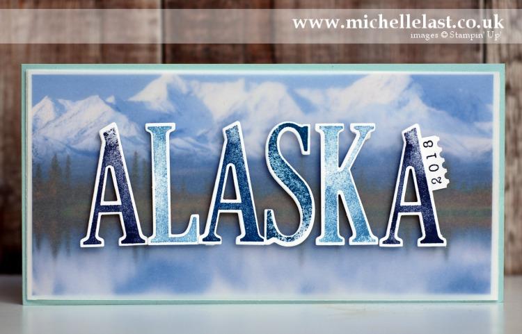 Alaska team incentive trip celebration card 2018