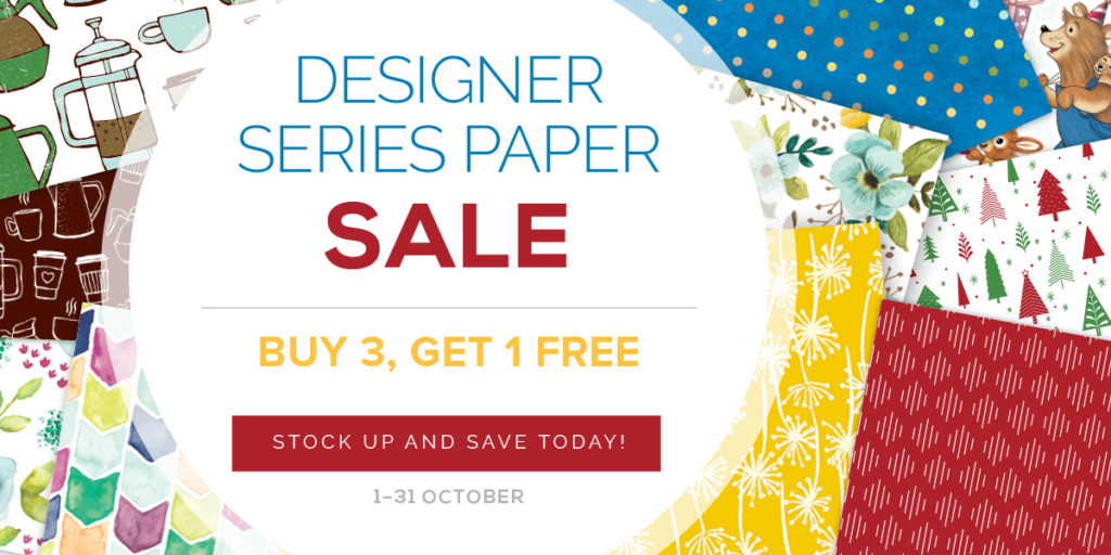 DSP Free paper from Stampin Up