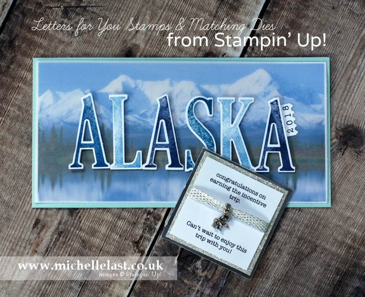 Large Letters Framelits from Stampin' Up!